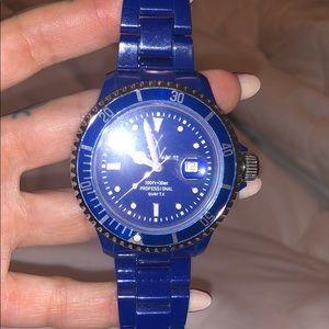 ToyWatch bright blue watch!